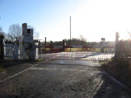 Level crossing nr Canterbury