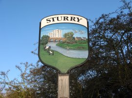 Sturry Village Sign