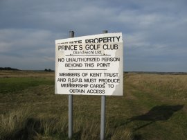 Prince's Golf Course
