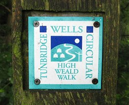 Tunbridge Wells Circular Walk Waymarker