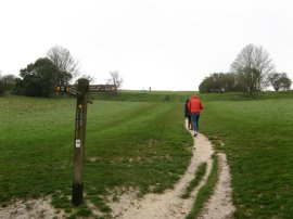 Path onto the Downs