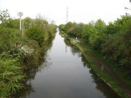 Slough Arm, Grand Union Canal