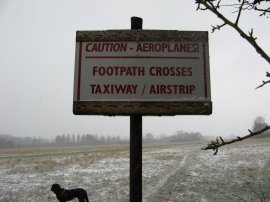 Small airstrip nr Edenbridge