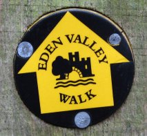 Eden Valley Walk Waymarker