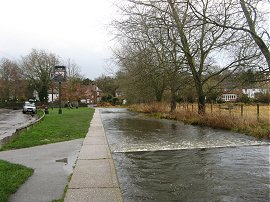River Darent, Eynsford