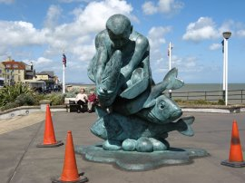 Sculpture, Deal Pier
