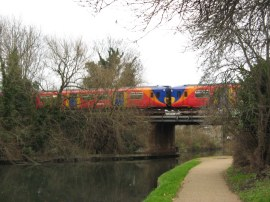 Rail Bridge nr Brentford