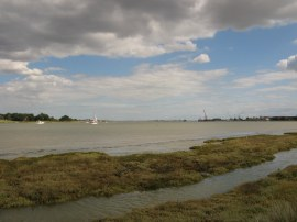 View down the River Crouch
