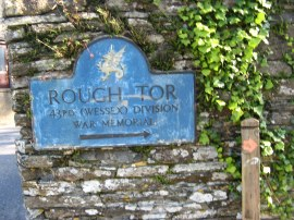 Sign by Roughtor Road