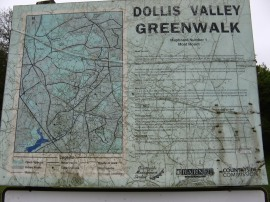 Greenwalk Information Board