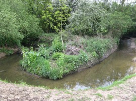 The meandering Dollis Brook