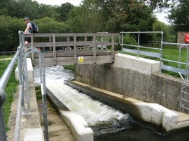 Oak Weir Lock Canoe and Fish Pass